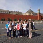 Липецкая делегация в Москве на праздновании Международного дня защиты детей, 01.06.14г