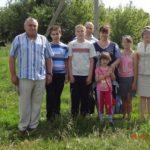Передача стельной коровы семье Фроловой Н.В.